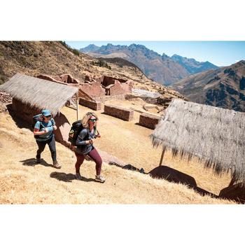 Casquette de Trekking voyage - TRAVEL 500 bleu