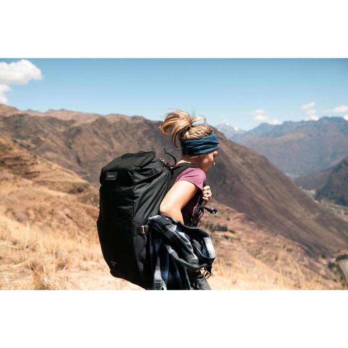 輕巧登山健行背包Travel 100 10 L-黑色