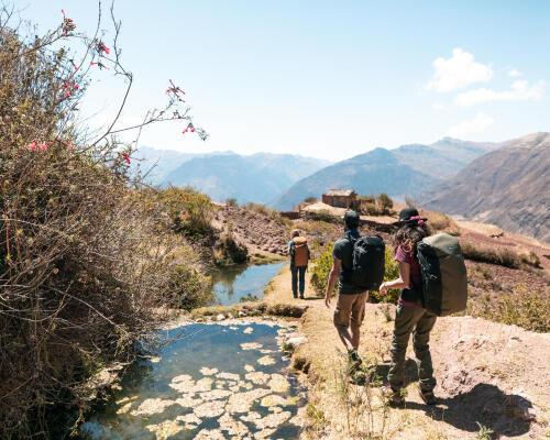 faire du trekking