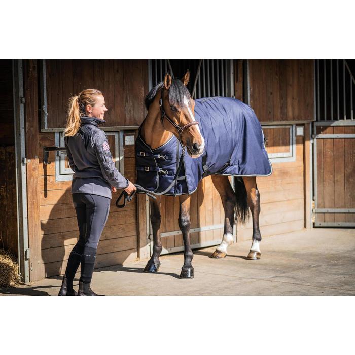 Staldeken ruitersport paard en pony Stable 300 marineblauw