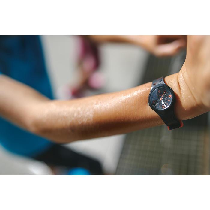 兒童款指針式運動腕錶A300S-黑色