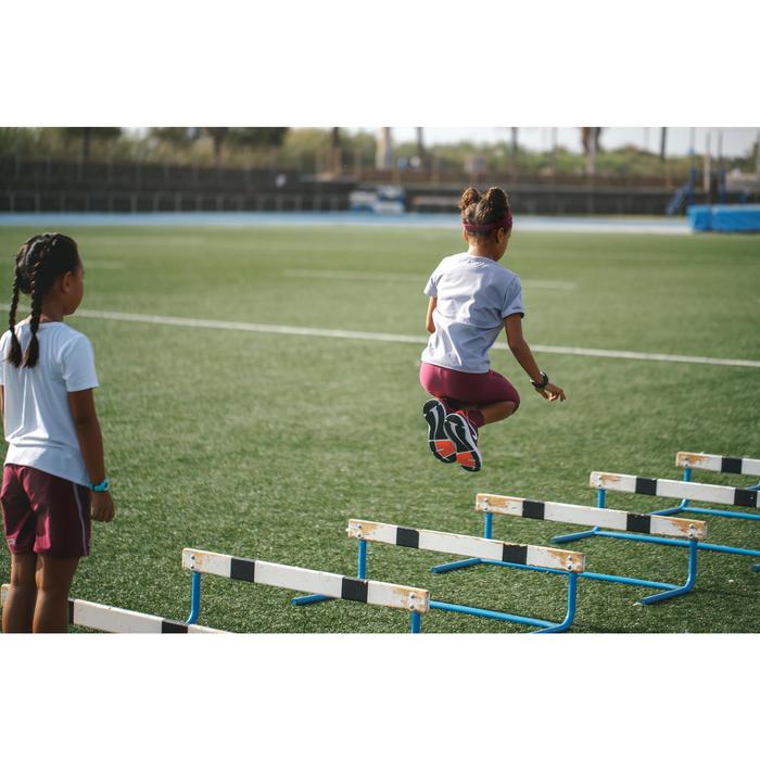 Atletiekbroek voor kinderen AT 100 paars