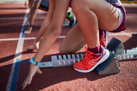 Chaussure d'athlétisme Run Support AT 500 - Enfants.