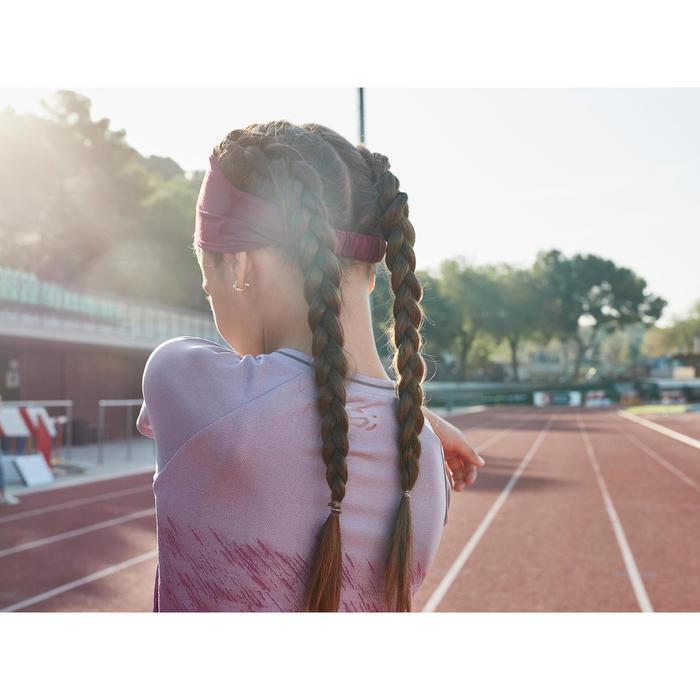 Atletiekshirt voor meisjes AT 500 paars