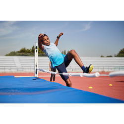 Tee-Shirt enfant d'athlétisme AT 500 TURQUOISE
