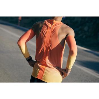 防寒跑步袖套KIPRUN - 橘色