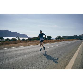 KIPRUN CARE MEN'S RUNNING T-SHIRT - BLUE/WHITE