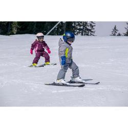 Ski-jas voor kinderen PNF 500 marineblauw