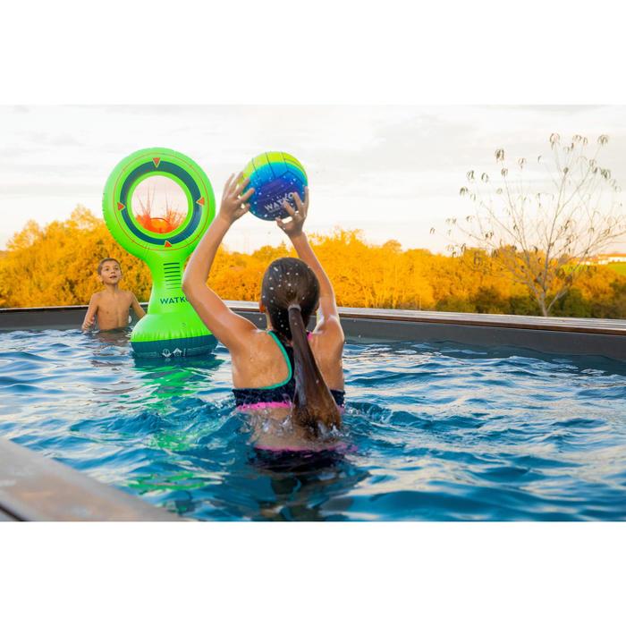 Grote zwembadbal blauw/groen
