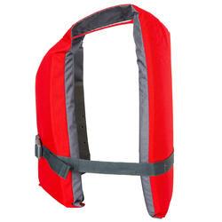 Zwemvest BA 50 N rood voor kajak, stand-up paddling, zwaardboot