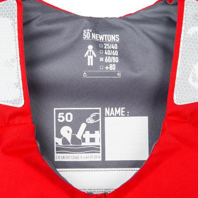 BA 50 N Kayak Stand Up Paddle Dinghy Buoyancy Vest Red