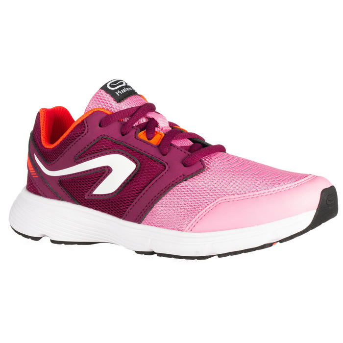 鞋帶式運動鞋Run Support - 粉紅色/酒紅