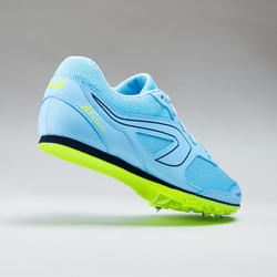 AT START MULTI-PURPOSE ATHLETICS SHOES WITH SPIKES - LIGHT BLUE