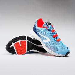 AT 300 BREATH KIDS' ATHLETICS SHOES - LIGHT BLUE/RED