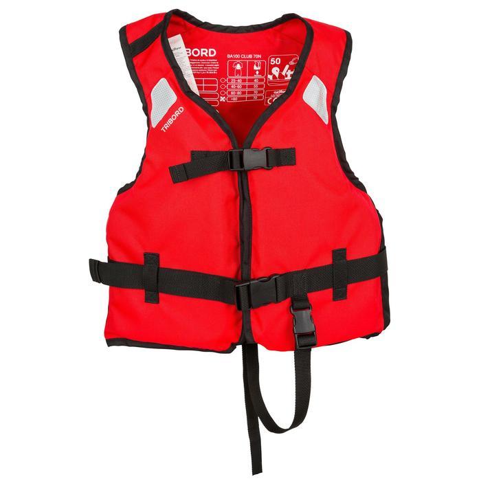 Gilet d'aide à la flottabilité BA100 70 N club Kayak dériveur Catamaran - 178059