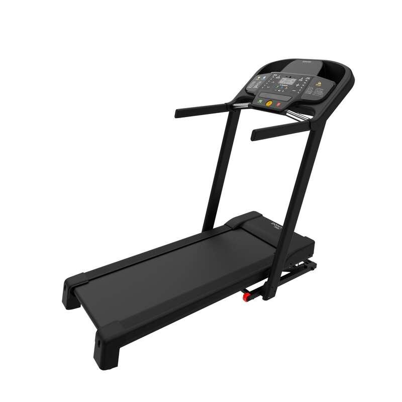 BANDĂ DE ALERGARE SAU DE MERS FITNESS CARDIO Fitness Cardio, Bodybuilding, Crosstraining, Pilates - Bandă de alergat T540C DOMYOS - Aparate fitness cardio
