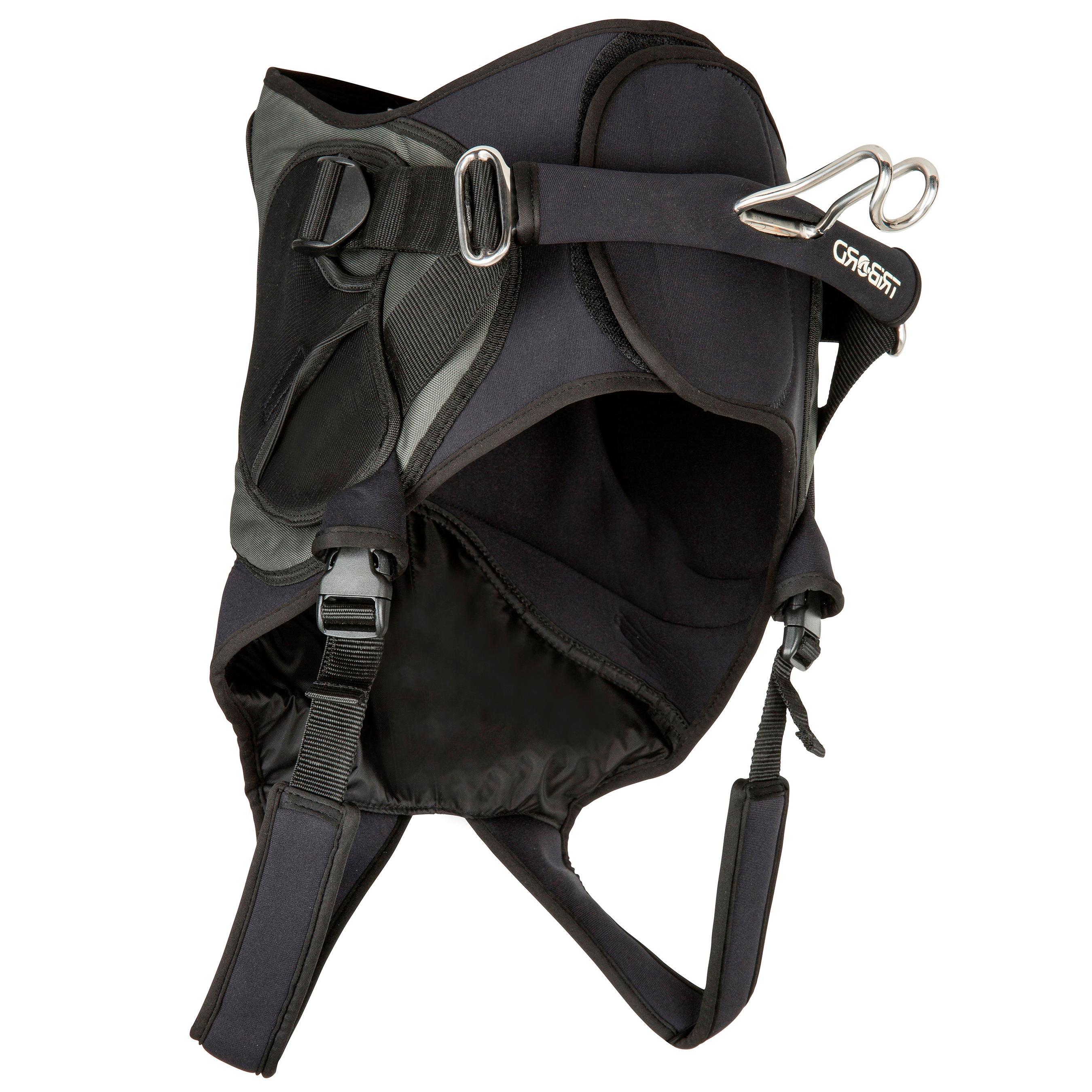 Tribord Zittrapeze voor windsurfen zwart