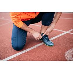 田徑運動釘鞋AT SPRINT - 藍色/黃色