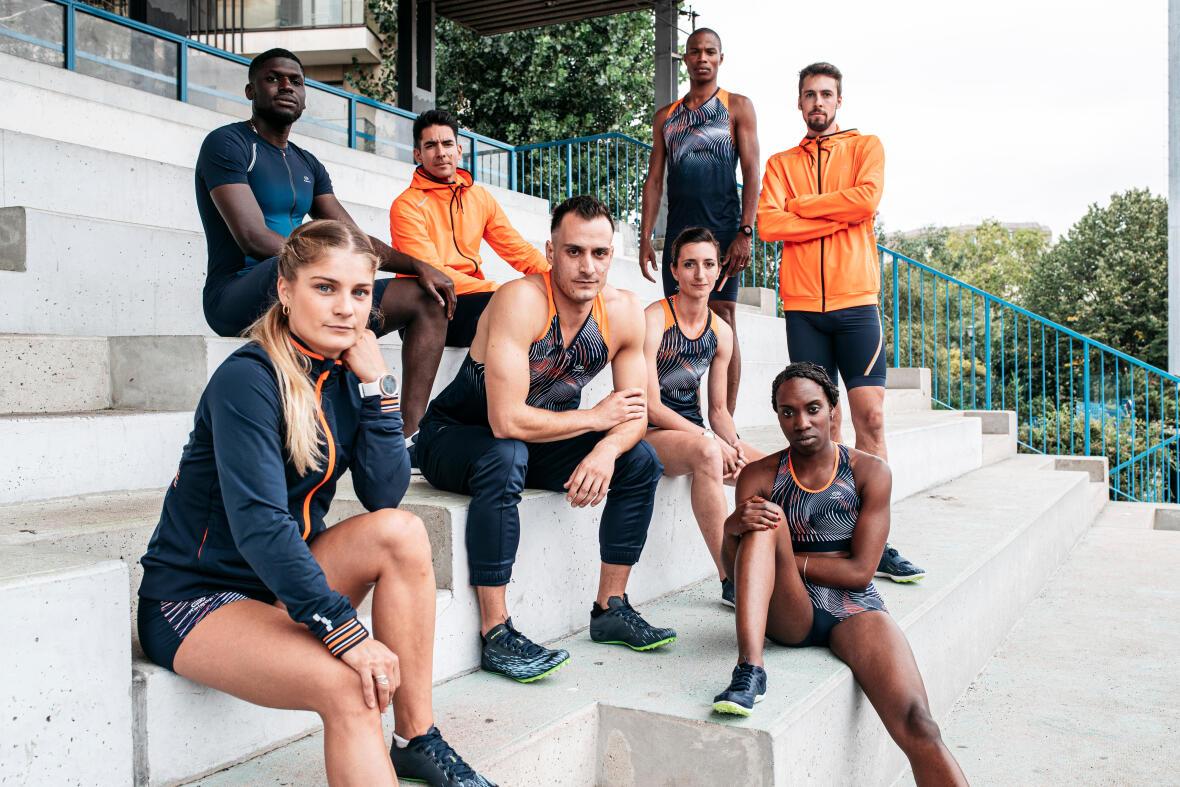 La collection d'athlétisme Kalenji de Decathlon
