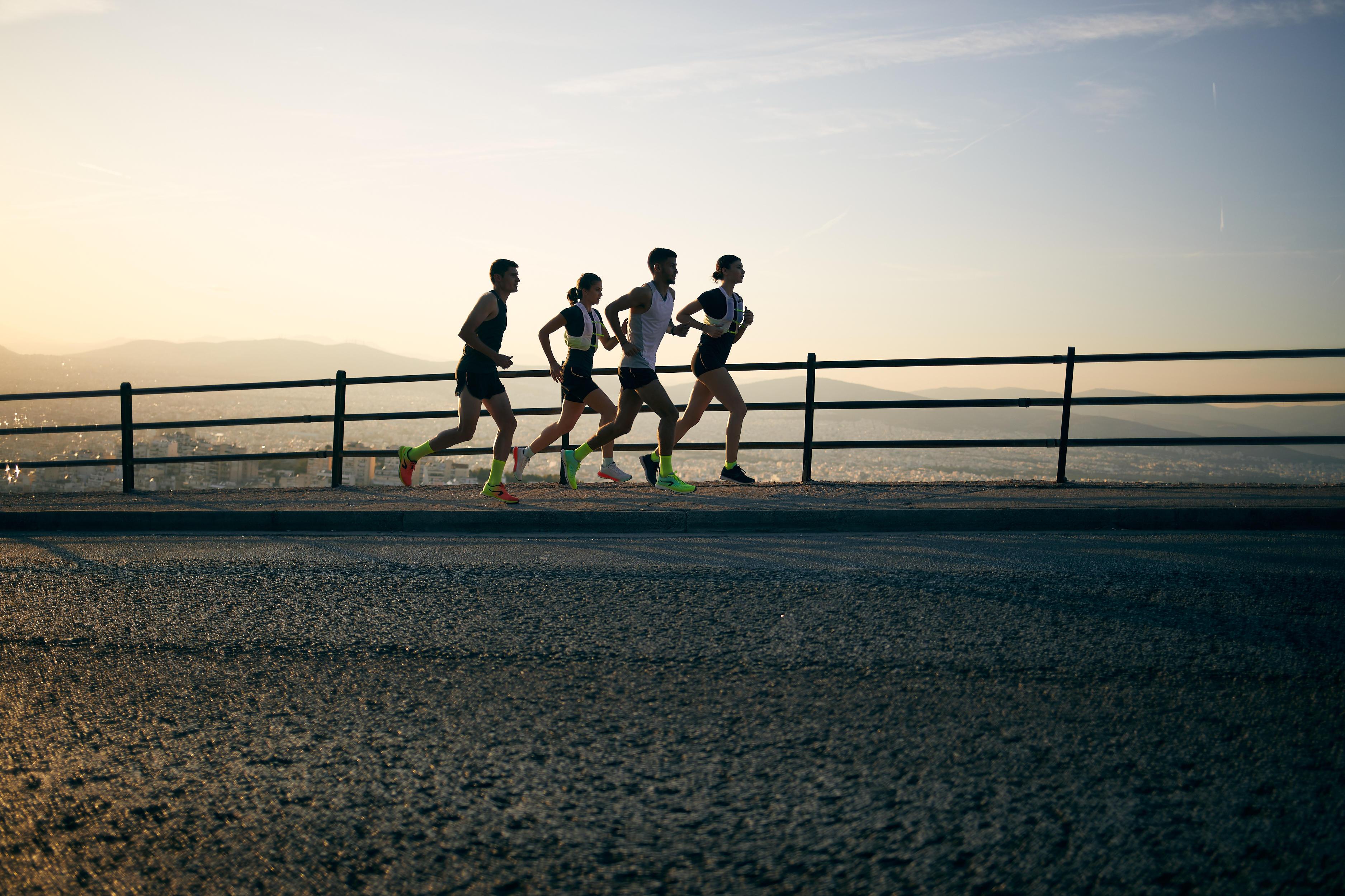 koşucular için maratona hazırlık süreci