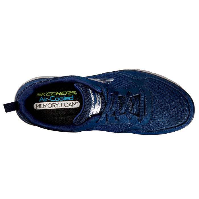 Herensneakers voor sportief wandelen Flex Appeal blauw