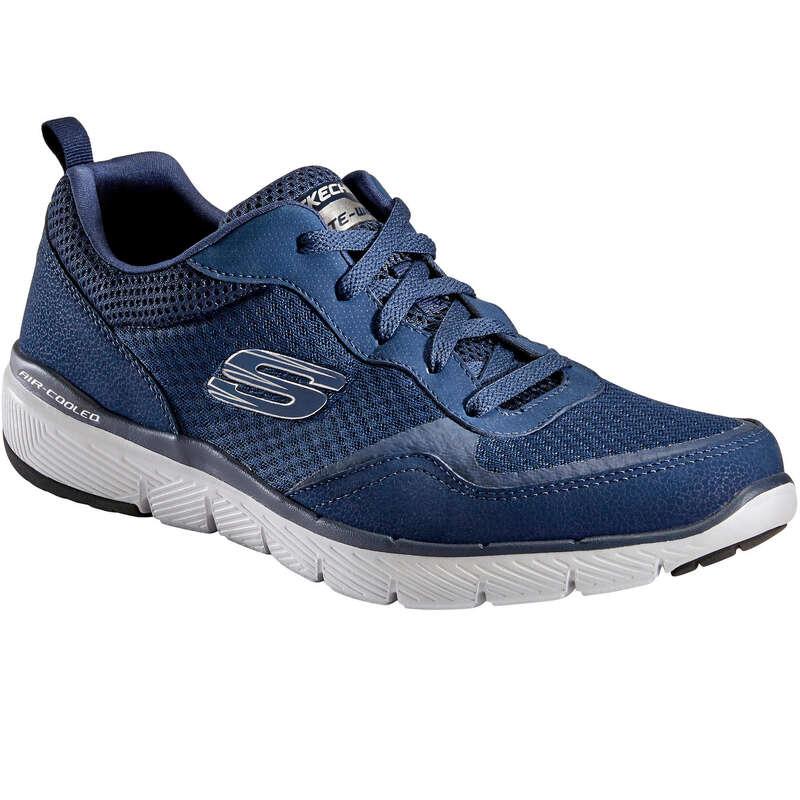 MEN SPORT WALKING SHOES Hiking - Skechers Flex Appeal blue SKECHERS - Outdoor Shoes