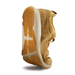 Chaussure marche sportive homme Actiwalk Confort Leather camel