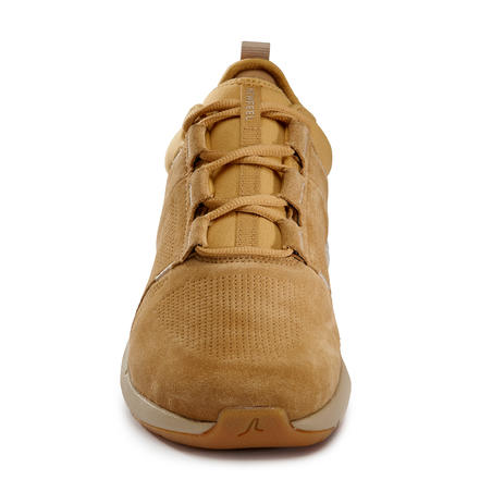 Tenis Caminar Actiwalk Confort Leather Hombre Camel