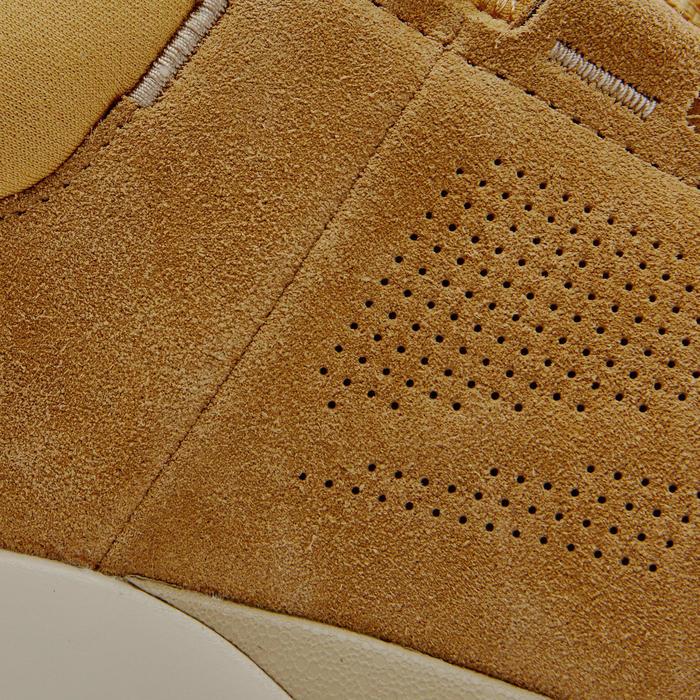 Herensneakers voor sportief wandelen Actiwalk Confort Leather camel
