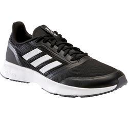 Chaussures marche sportive homme Adidas Nova noir / blanc
