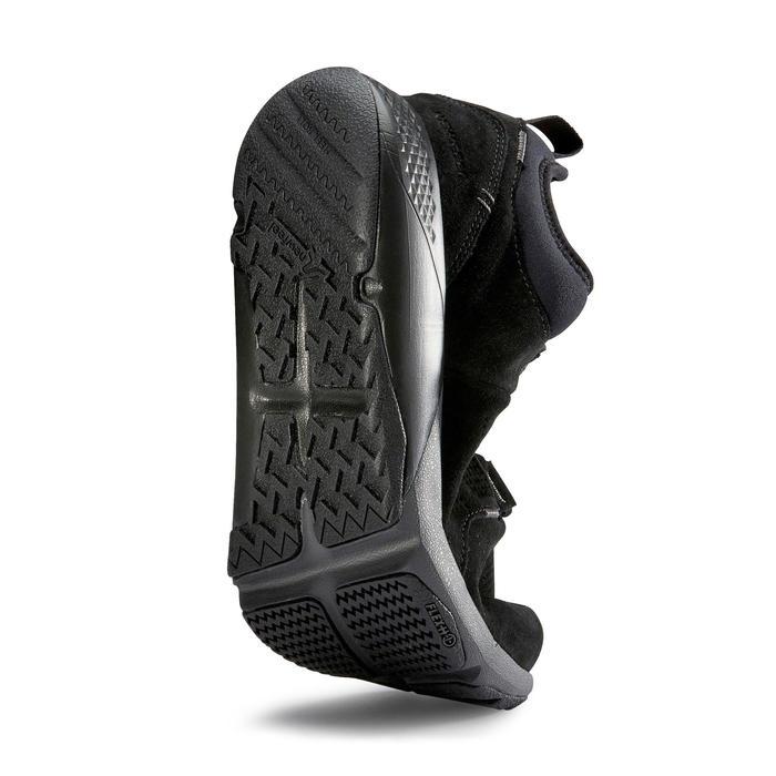 Chaussure marche active homme Actiwalk Comfort Leather noir