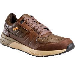 Chaussures cuir marche urbaine homme Skechers Felano marron