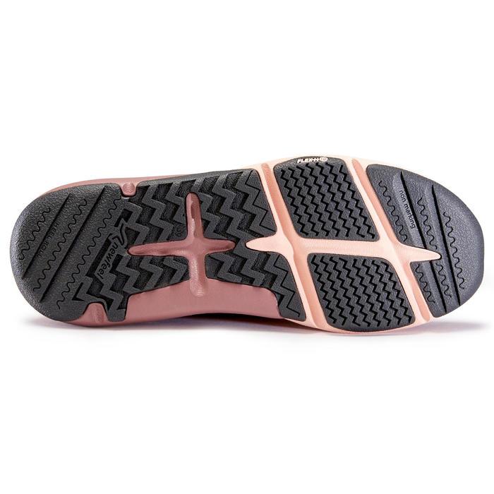 Chaussure marche active femme Actiwalk Confort Leather rose