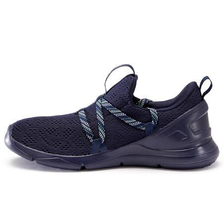 Tenis Caminar PW 140 Mujer Azul