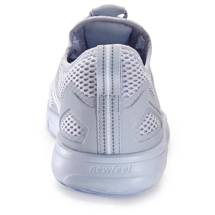 Chaussures marche sportive femme PW 500 Fresh gris