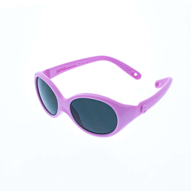 SUNGLASSES JUNIOR Nordic Walking - MH B100 CAT4 PINK QUECHUA - Nordic Walking Accessories