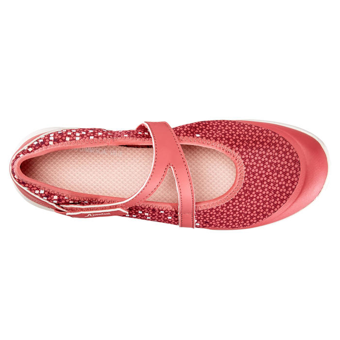 Ballerines marche sportive femme PW 160 Br'easy rose