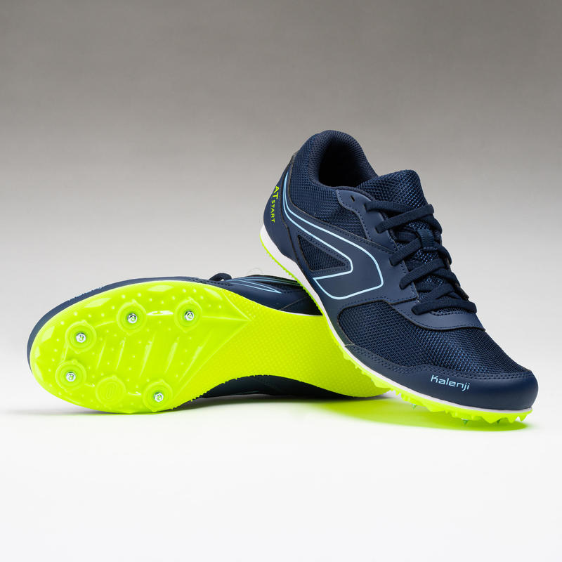 รองเท้ากรีฑาอเนกประสงค์แบบมีปุ่มรุ่น AT START (สีกรมท่า)