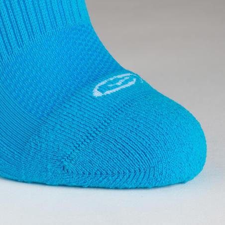 Comfort High Leg Athletics Socks Pack of 2 Turquoise – Kids