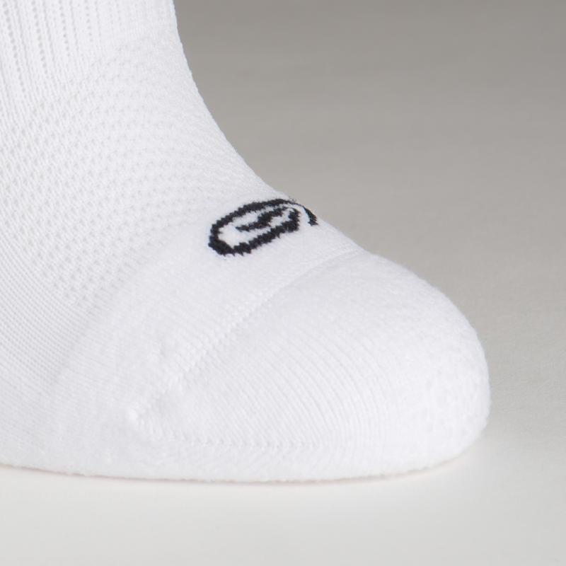 Invisible childrens athletics socks Pack Of 2 Black White