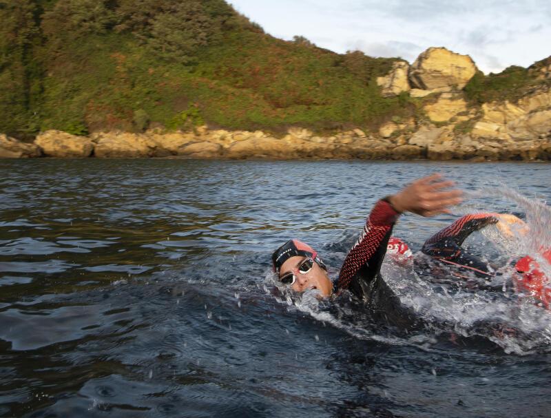 挑戰節慶冬泳