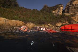 Nadar em águas abertas na Ilha de Madeira
