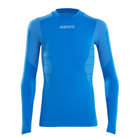 Keepdry 500 Kids Breathable Long Sleeve Base Layer - Blue
