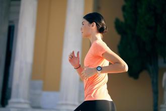 Smartwatch GPS-klocka pulsklocka löparklocka sportklocka