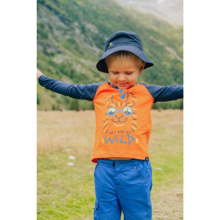Wandelhoedje voor kinderen MH 2 tot 6 jaar marineblauw