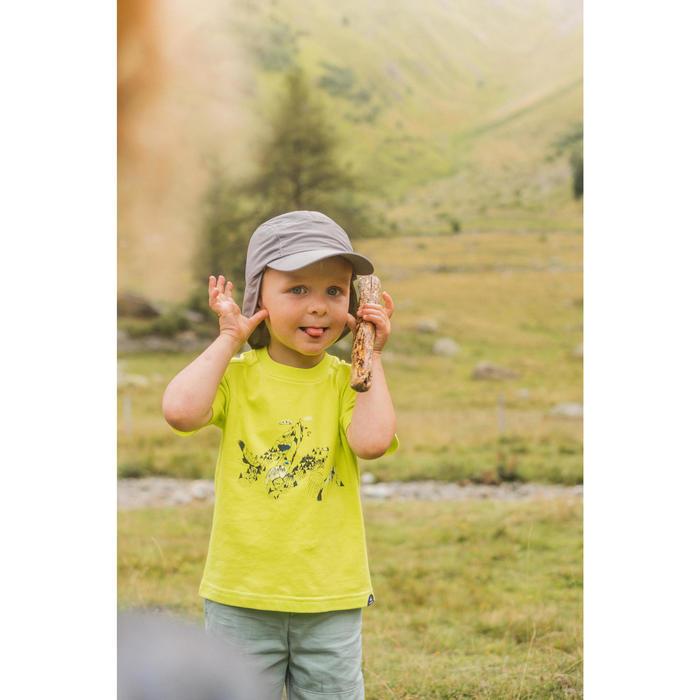 Short de randonnée - MH500 KID vert - enfant