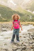 TS SHORT JKT & PANTS GIRL 2-6 Y Hiking - Kid TS MH100 - Pink QUECHUA - Hiking Clothes