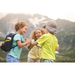 Wandel T-shirt voor kinderen MH100 turquoise 2-6 jaar