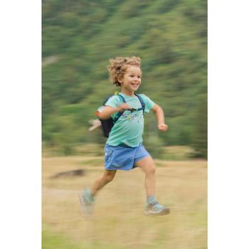 Shortrokje voor meisjes wandelen MH100 marineblauw