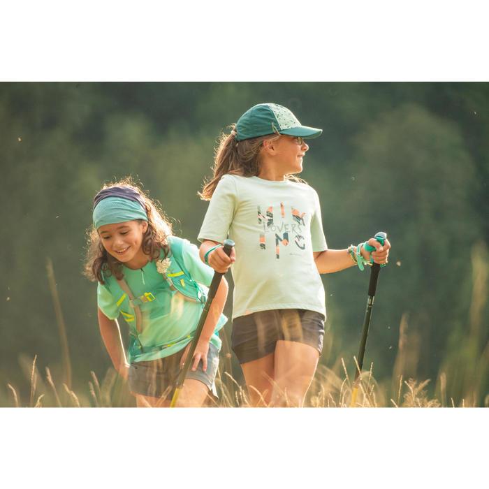 Wandelshort voor kinderen - MH500 - donkergrijs